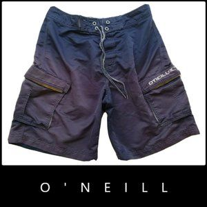 Other - O'neill Men Cargo Board Shorts Blue Size 32